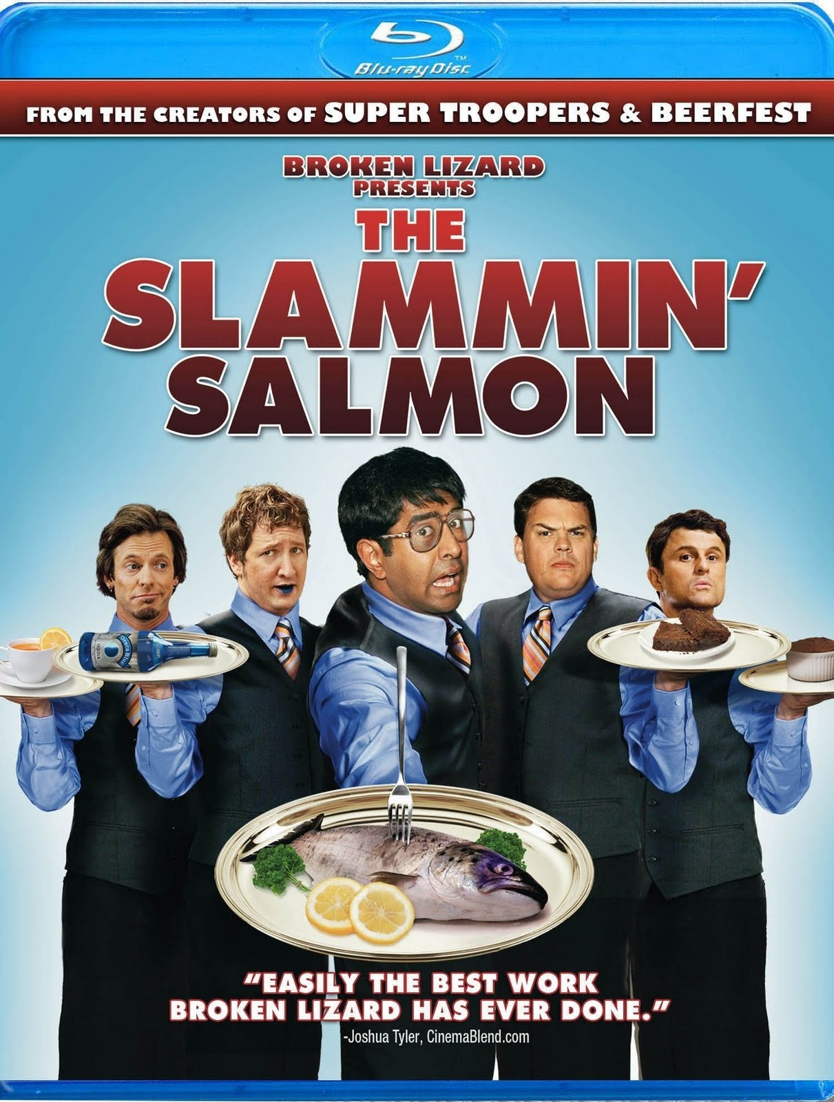 ... Went To Africa I Went To Perkins: The Slammin Salmon: Blu-ray (2009