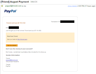 Biggest Triond Payment Proof