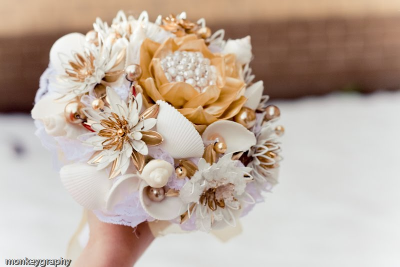 Water Lily Bridal Bouquet
