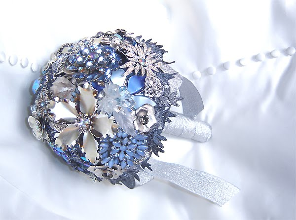 Beautiful Blue Brooch Bouquets photo 3433252-1