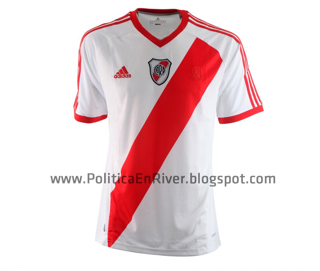 Politica en River  Nueva Camiseta River Plate 2010 9804e138167b2