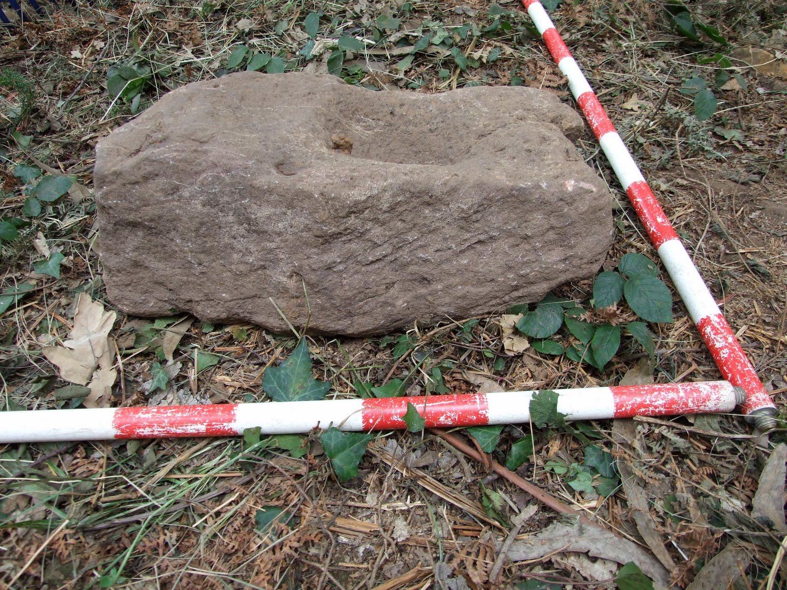 Excavación en la ferrería de monte de Callejaverde (Muzkiz) 2009-10