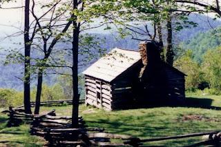 photo of the Blue Ridge Mountains, VA