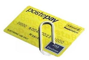 Per i vostri pagamenti con postepay