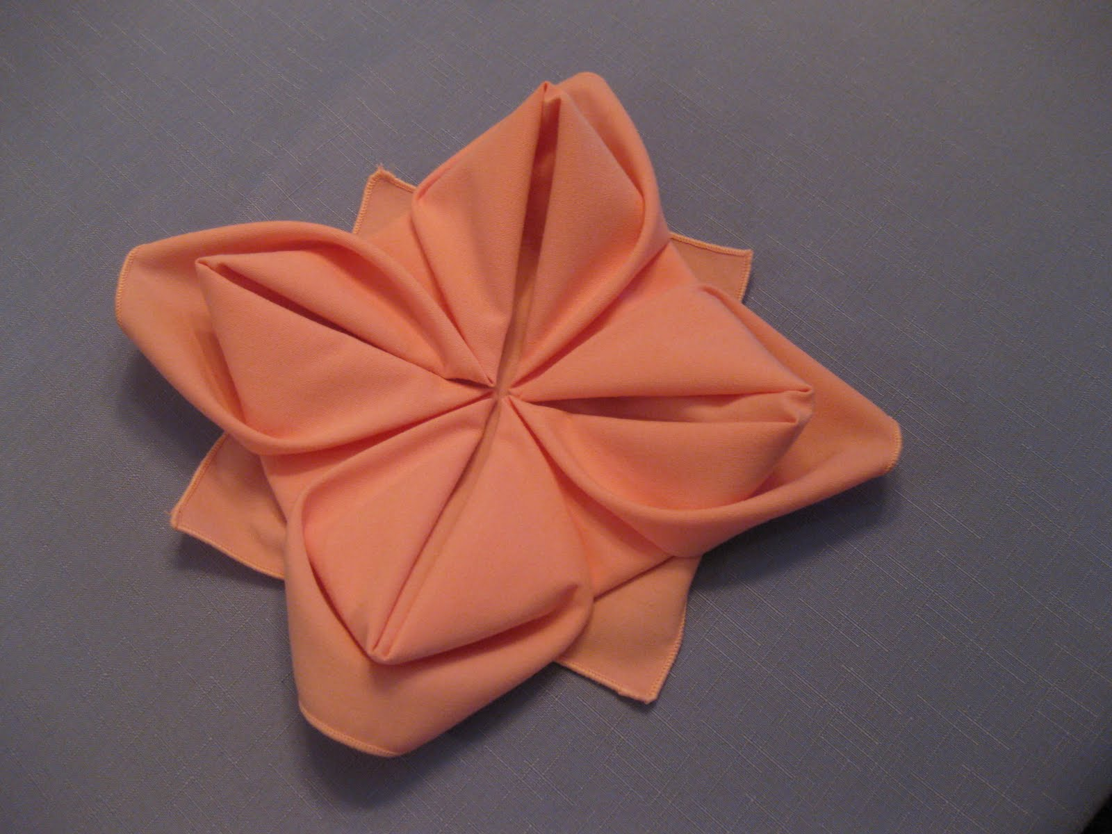Napkin Folding Special Napkin Folding For Your Table  : napkinfolding flowers012 from partyinvitationsideas.com size 1600 x 1200 jpeg 163kB