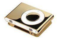 golden iPod shuffle