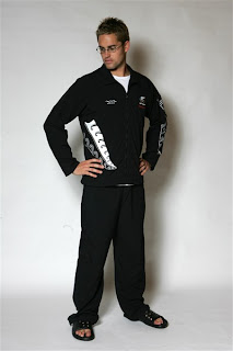 NZ olympic team Jandals uniform