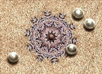 petanque caleidoscopio fractal