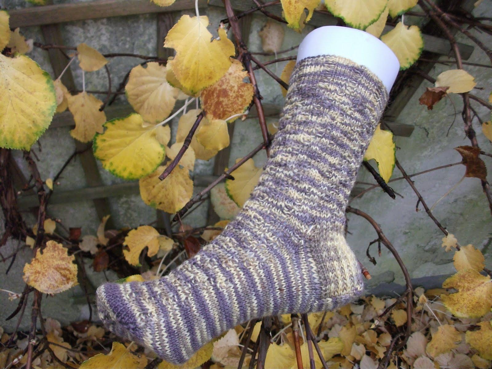 Pflastersteine Muster Stricken : Neues Sockenmuster ausprobiert – Hobbys Blog