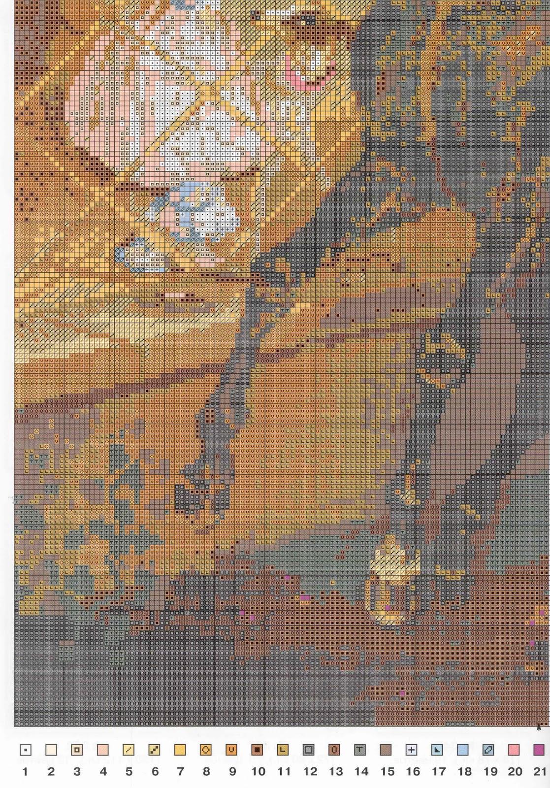 Всадница картина брюллова вышивка крестом 14