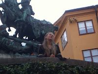 Juliet beneath St George and the Dragon