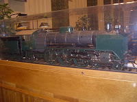 A 1/10 model of a class Hrl steam engine