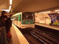 Métro at Gare de l'Est