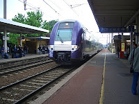 Local train in Montélimar