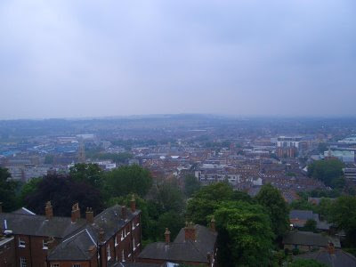 View of Lincoln and surroundings from Observatory Tower