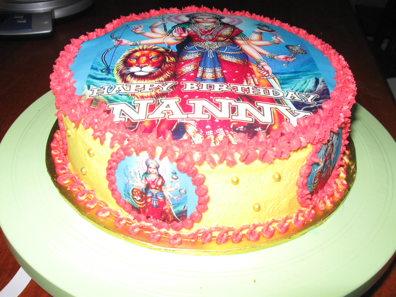 Maa Durga Images Cake Ideas and Designs