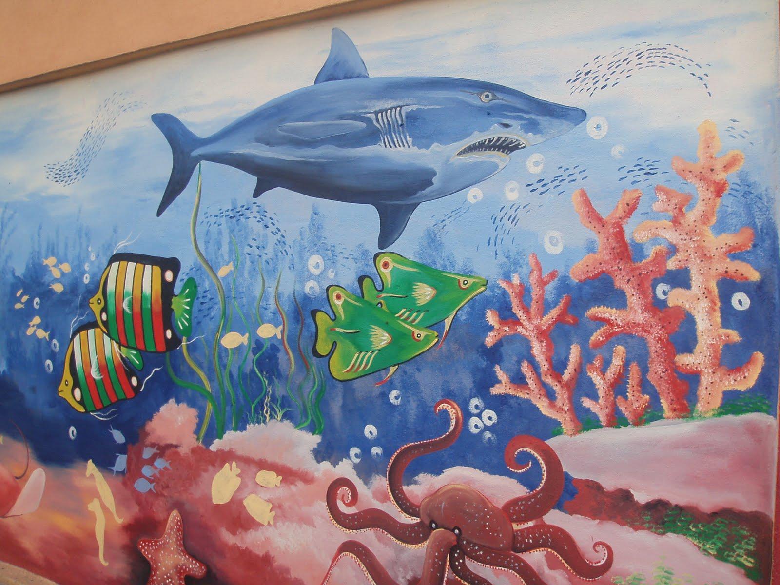 Pelukis mural shah alam dasar laut for Mural kartun