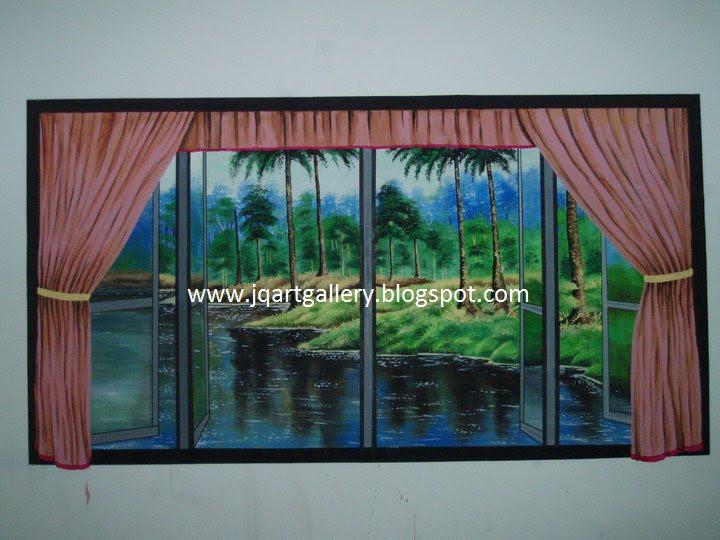 Pelukis mural shah alam lukisan mural tingkap for Mural sekolah rendah