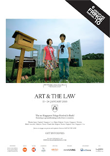 Kent's Life: M1 SINGAPORE FRINGE FESTIVAL 2010: ART AND THE LAW