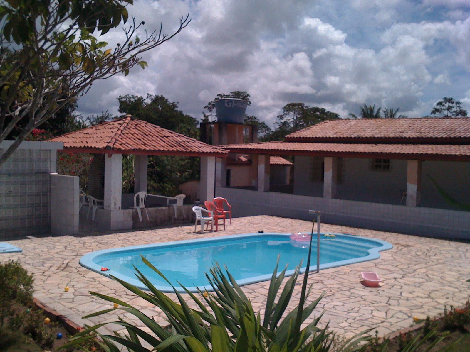 Sitio jesus a luz entrada do sitio com portao for Entrada piscina