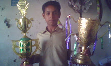 SAEED BALOCH WITH WINNING CUP