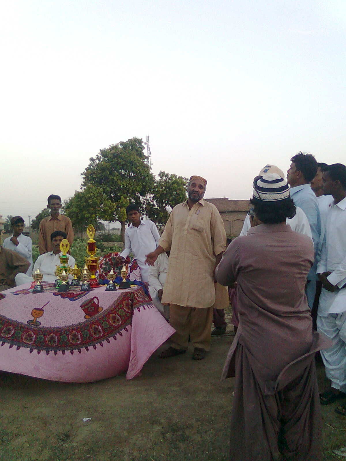 CHIEF GUEST BABY SHAH IS ADDRESING TO ALL PLAYER KING BALOCH
