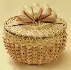 Curly Basket Bowl by Dianne Stanton