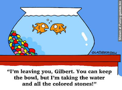 funny fish cartoon