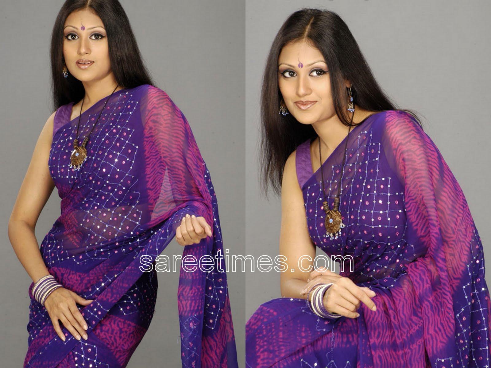Sleeveless Saree Blouse