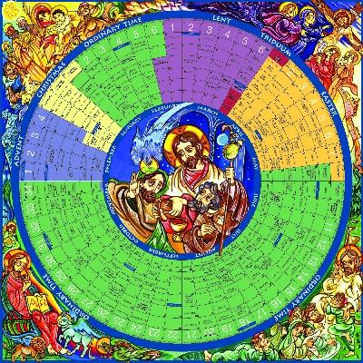 Liturgical Calendar Wheel | Calendar Template 2016