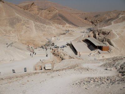 Excavations in the Valley of the Kings looking north