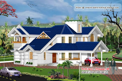 Kerala Style Homes by Architect Praveen.M - Part 3