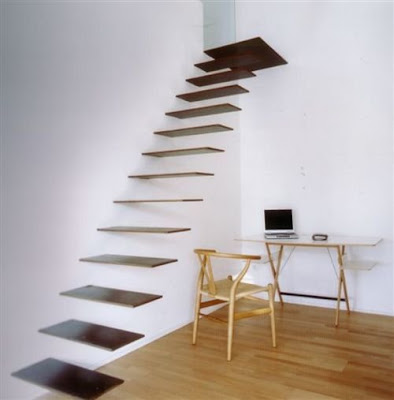 Creative Home Ideas on Creative Stair Case Designs Part 2   Kerala Home Design   Architecture