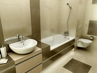 Modern bathroom design ideas kerala home design and for New model bathroom design