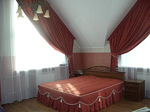 bedroom curtain design