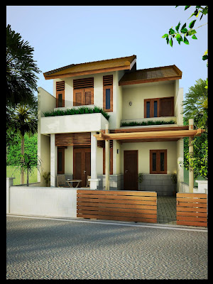Exterior Home Design on Home Exterior   10 Photos   Kerala Home Design   Architecture House