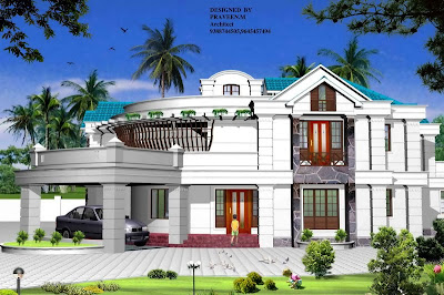 Kerala Style Homes by Architect Praveen.M - Part 2