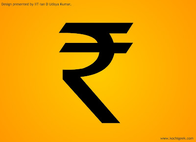 Symbol of Rupees