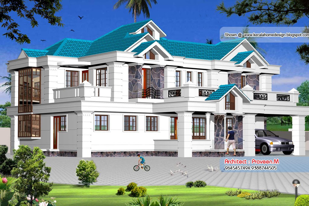 Magnificent Kerala House Elevation Plan 1024 x 683 · 192 kB · jpeg