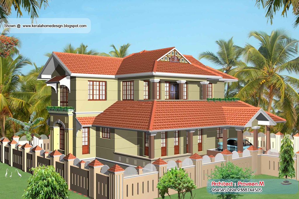 Kerala Home plan and elevation - 2378 Sq. Ft - Kerala home design and ...