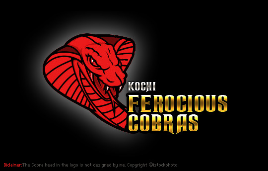 Kochi Ferocious Cobras (KFC) - Kochi IPL