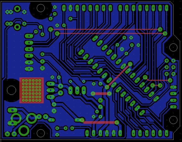 Jeff\'s Arduino Blog: Rounded EAGLE Routing?