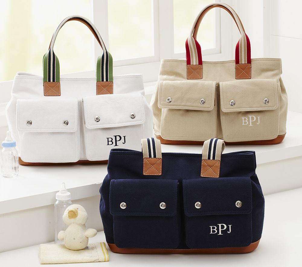 mother s day giveaway 4 pottery barn kids seacliff diaper tote my mom shops. Black Bedroom Furniture Sets. Home Design Ideas
