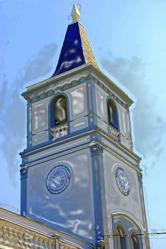 Biblioteca Pública Miguel G. Teijeiro. Vista de la Torre del Reloj