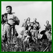 Group of Seven Samurai