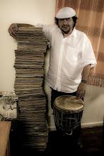 As fotos secretas do Acervo Ayom - O maior acervo de música de terreiro do Brasil!