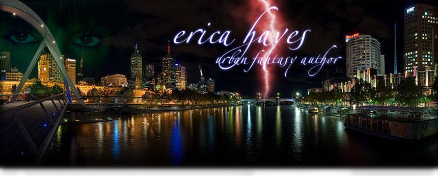 Erica Hayes ~ urban fantasy/romance author