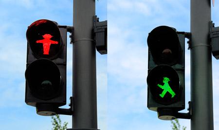 original semaforo berlin