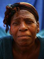una mujer haitiana
