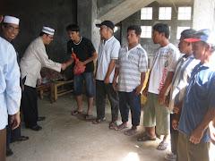 Jagakarsa-DKI: Penyerahan Daging Qurban oleh MUI Kecamatan